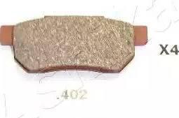 Ashika 51-04-402 - Σετ τακάκια, δισκόφρενα asparts.gr