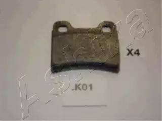 Ashika 51-0K-K01 - Σετ τακάκια, δισκόφρενα asparts.gr