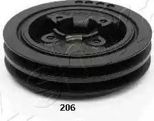 Ashika 122-02-206 - Τροχαλία ιμάντα, στροφαλοφόρος άξονας asparts.gr