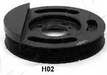 Ashika 122-0H-H02 - Τροχαλία ιμάντα, στροφαλοφόρος άξονας asparts.gr
