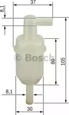 BOSCH 0450904077 - Φίλτρο καυσίμου asparts.gr