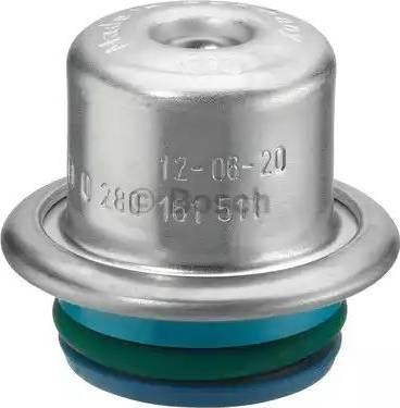 BOSCH 0280161511 - Ρυθμιστής πίεσης καυσίμων asparts.gr