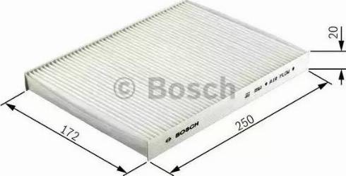 BOSCH 1 987 432 055 - Φίλτρο, αέρας εσωτερικού χώρου asparts.gr
