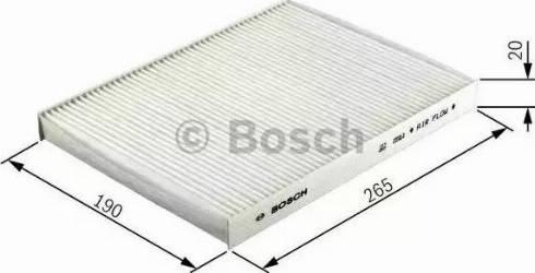 BOSCH 1 987 432 238 - Φίλτρο, αέρας εσωτερικού χώρου asparts.gr