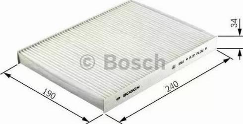 BOSCH 1 987 432 220 - Φίλτρο, αέρας εσωτερικού χώρου asparts.gr