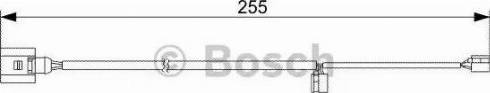 BOSCH 1987473013 - Προειδοπ. επαφή, φθορά υλικού τριβής των φρένων asparts.gr