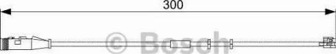 BOSCH 1987473033 - Προειδοπ. επαφή, φθορά υλικού τριβής των φρένων asparts.gr