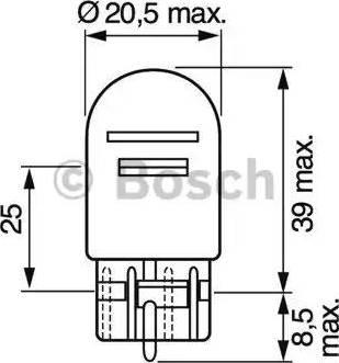 BOSCH 1987302252 - Λυχνία, φως παρκαρ./θέσης asparts.gr