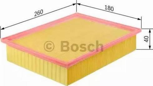 BOSCH 1 457 433 073 - Φίλτρο αέρα asparts.gr