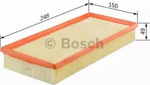 BOSCH 1 457 433 314 - Φίλτρο αέρα asparts.gr