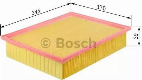 BOSCH 1 457 433 272 - Φίλτρο αέρα asparts.gr