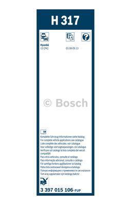 BOSCH 3397015106 - Μάκτρο καθαριστήρα asparts.gr