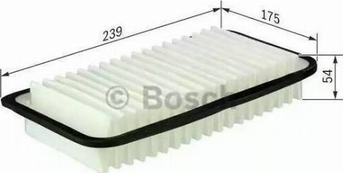 BOSCH F 026 400 114 - Φίλτρο αέρα asparts.gr