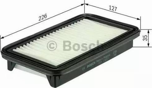 BOSCH F 026 400 201 - Φίλτρο αέρα asparts.gr