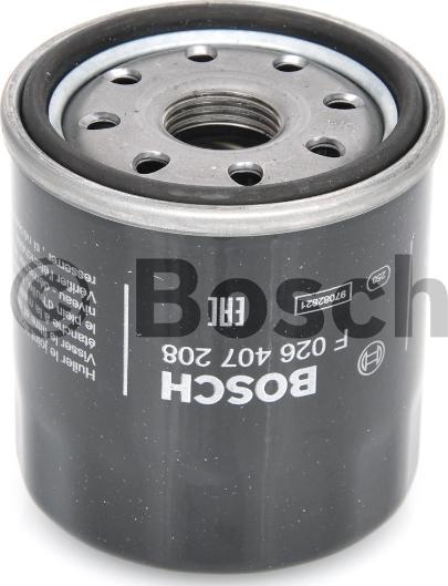 BOSCH F 026 407 208 - Φίλτρο λαδιού asparts.gr