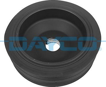Dayco DPV1241 - Τροχαλία ιμάντα, στροφαλοφόρος άξονας asparts.gr