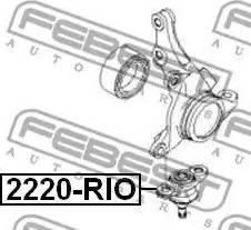 Febest 2220-RIO - Άρθρωση υποστήριξης asparts.gr
