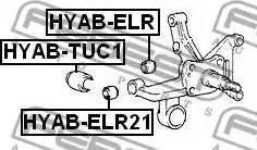 Febest HYAB-ELR21 - Σινεμπλόκ, ψαλίδι asparts.gr