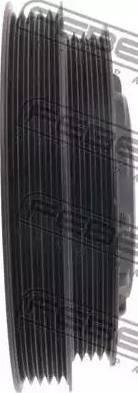 Febest HYDS-EF - Τροχαλία ιμάντα, στροφαλοφόρος άξονας asparts.gr