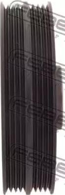 Febest HYDS-LAN - Τροχαλία ιμάντα, στροφαλοφόρος άξονας asparts.gr