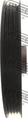 Febest TDS-003 - Τροχαλία ιμάντα, στροφαλοφόρος άξονας asparts.gr