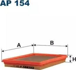 Filtron AP154 - Φίλτρο αέρα asparts.gr