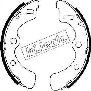 Fri.Tech. 1044.009 - Σετ φρένων, φρένα τυμπάνων asparts.gr