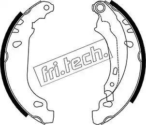 Fri.Tech. 1079.191 - Σετ φρένων, φρένα τυμπάνων asparts.gr
