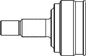GSP 861002 - Σετ άρθρωσης, άξονας μετάδ. κίν. asparts.gr
