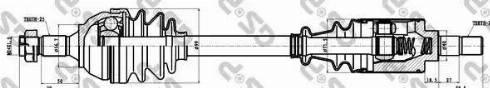 GSP 210026 - Άξονας μετάδοσης κίνησης asparts.gr