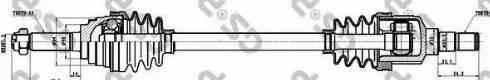 GSP 212011 - Άξονας μετάδοσης κίνησης asparts.gr