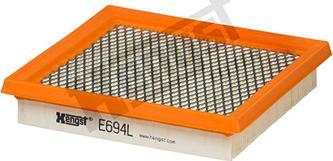 Hengst Filter E694L - Φίλτρο αέρα asparts.gr