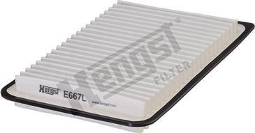 Hengst Filter E667L - Φίλτρο αέρα asparts.gr