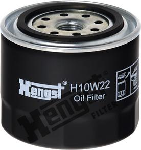 Hengst Filter H10W22 - Υδραυλ. φίλτρο, αυτόμ. κιβ. ταχυτ. asparts.gr