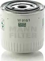 Mann-Filter W 916/1 - Φίλτρο λαδιού asparts.gr