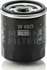 Mann-Filter W 68/3 - Φίλτρο λαδιού asparts.gr