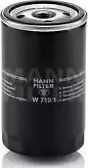 Mann-Filter W-719/1 - Φίλτρο, αναπνοή του στροφαλοθάλαμου asparts.gr