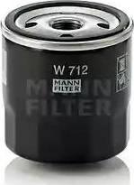 Mann-Filter W-712 - Φίλτρο, αναπνοή του στροφαλοθάλαμου asparts.gr