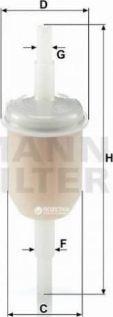 Mann-Filter WK-31/2-100 - Φίλτρο, αναπνοή του στροφαλοθάλαμου asparts.gr