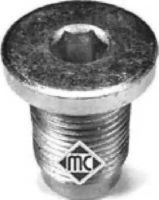 Metalcaucho 04062 - Βιδωτή τάπα, λεκάνη λαδιού asparts.gr