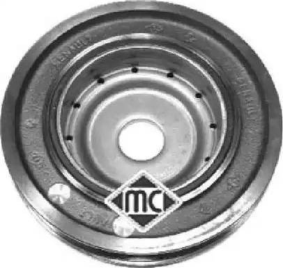 Metalcaucho 04162 - Τροχαλία ιμάντα, στροφαλοφόρος άξονας asparts.gr