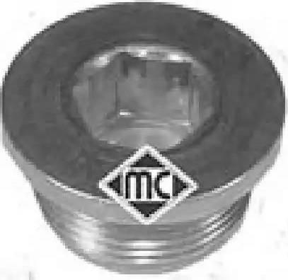 Metalcaucho 04888 - Βιδωτή τάπα, λεκάνη λαδιού asparts.gr