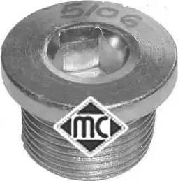 Metalcaucho 05106 - Βιδωτή τάπα, λεκάνη λαδιού asparts.gr