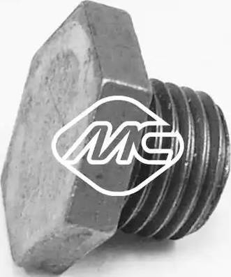 Metalcaucho 00674 - Βιδωτή τάπα, λεκάνη λαδιού asparts.gr