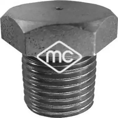 Metalcaucho 00677 - Βιδωτή τάπα, λεκάνη λαδιού asparts.gr