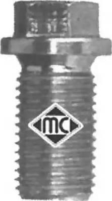 Metalcaucho 00857 - Βιδωτή τάπα, λεκάνη λαδιού asparts.gr