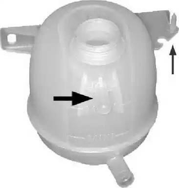 Metalcaucho 03567 - Δοχείο νερού, ψυγείο asparts.gr