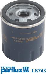 Purflux LS743 - Φίλτρο λαδιού asparts.gr