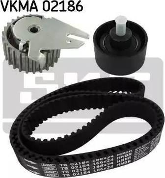 SKF VKMA02186 - Σετ οδοντωτού ιμάντα asparts.gr