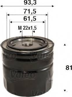 Valeo 586110 - Φίλτρο λαδιού asparts.gr